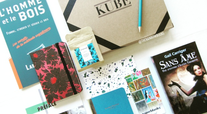 La Box Littéraire KUBE & The Rainbow Books